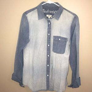 Madewell Chambray Button Up